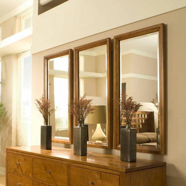 Le miroir triptyque un style l gant et bien connu for Miroir au dessus du lit