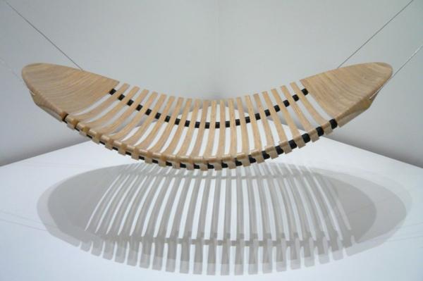 mobilier-de- design-contemporain-un-hamac-pour-l'intérieur