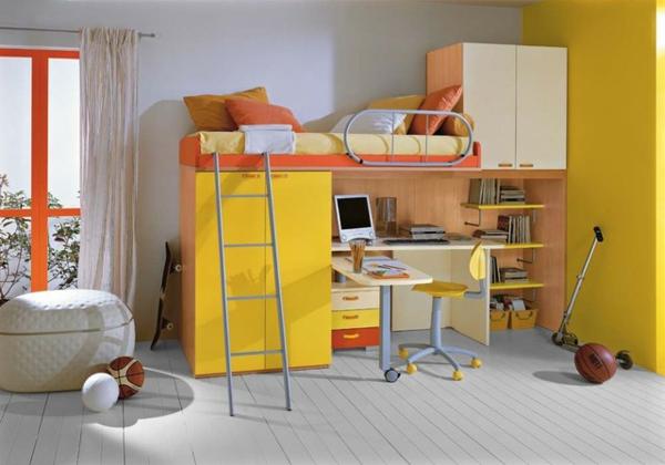 mobilier-de- design-contemporain-une-chambre-d'enfant