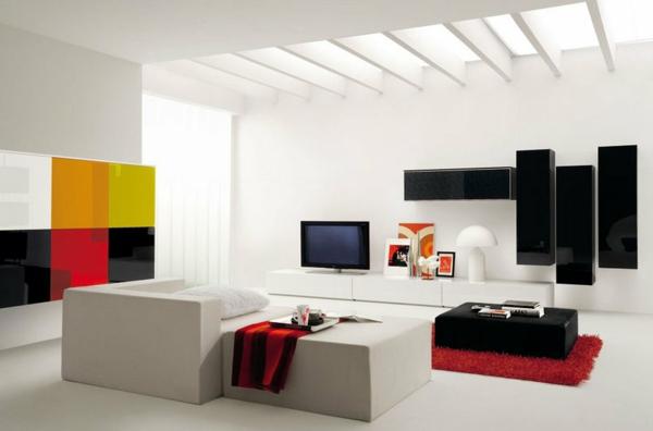 mobilier-de- design-contemporain-une-salle-moderne