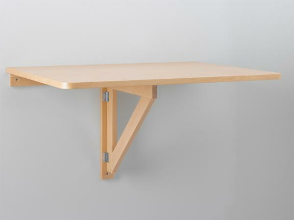 table-murale-rabattable-de-bois-toute-simple