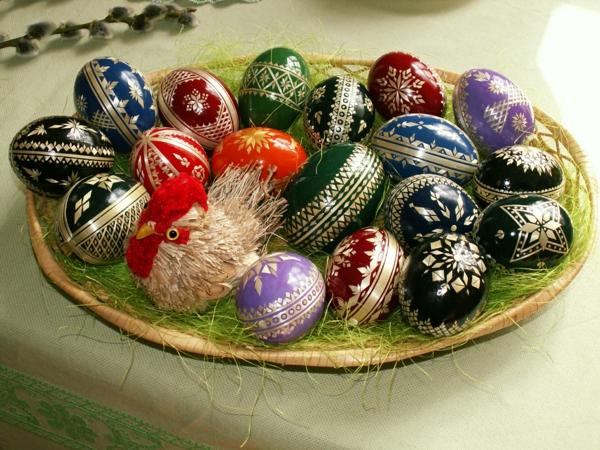 Les œufs décorés – un art inspirant non seulement pendant la ...