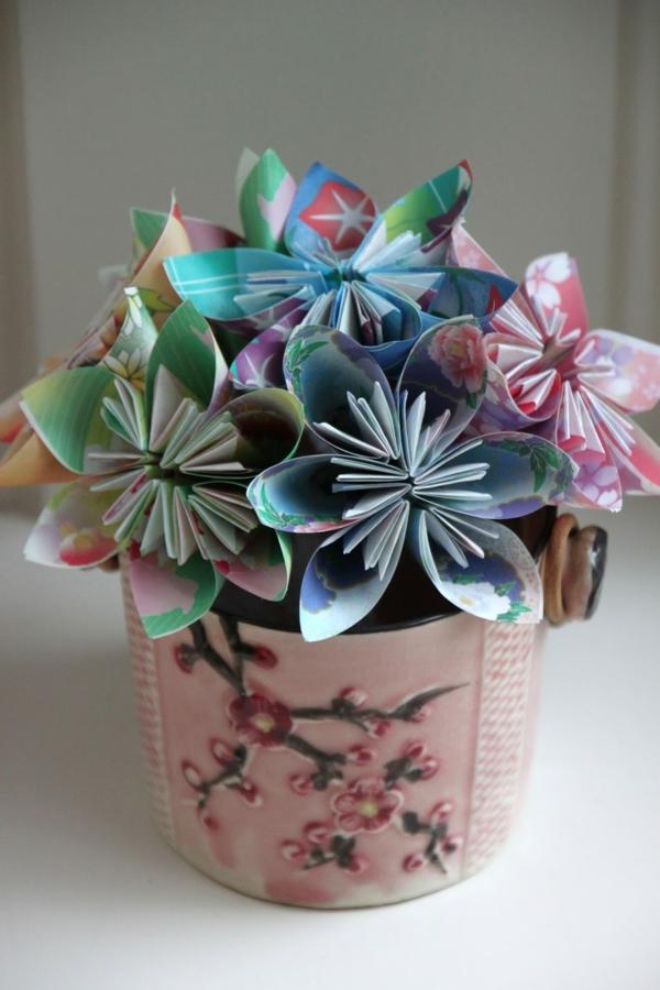Fleurs En Papier Origami Facile Les Derni Res Id Es De Design Et Int Ressantes