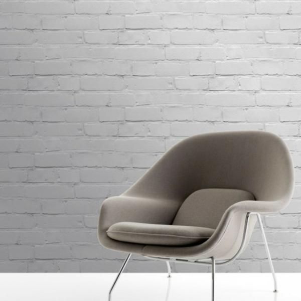 papier-peint-brique-fauteuil