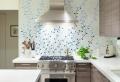 Le papier peint de cuisine vous recouvre d'une fraîcheur et provoque votre bon appétit