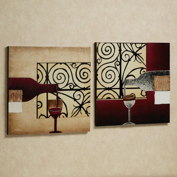 papier-peint-de-cuisine-des-dalles-attachées-au-mur