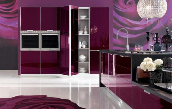 papier-peint-de-cuisine-des-roses-en-lilas
