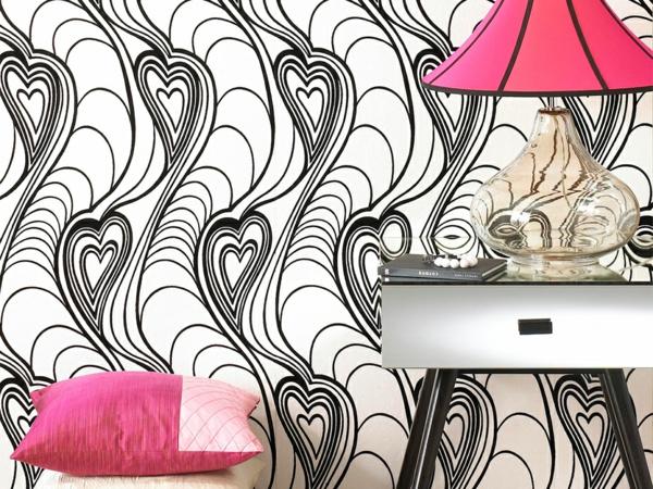 papiers-peints-originaux-decoration-rose