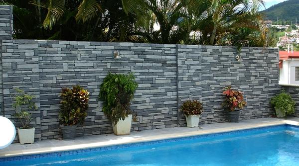 Les parements muraux pour vos int rieurs et ext rieurs for Decoration des jardins et les murs exterieures