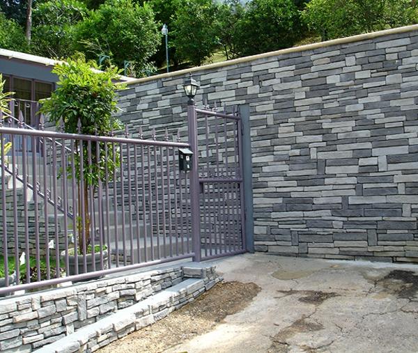 Les parements muraux pour vos int rieurs et ext rieurs - Mur en pierre de parement exterieur ...