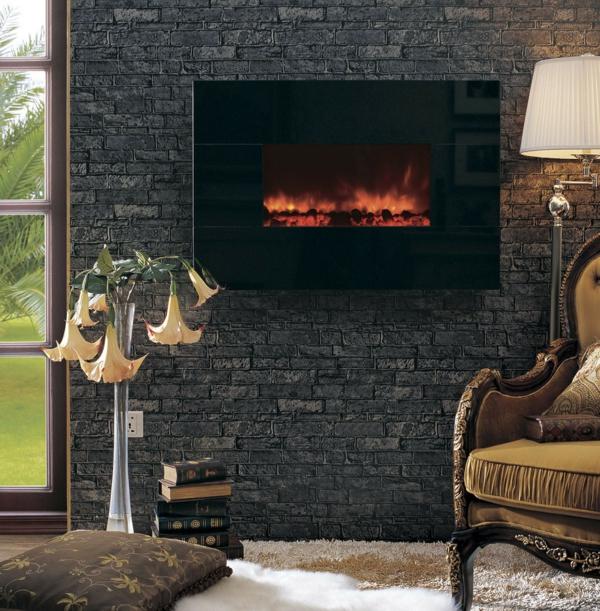 parements-muraux-un-mur-en-briques-grises-avec-un-foyer
