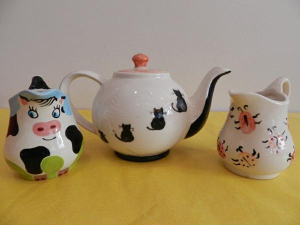 peinture-sur-ceramique-creative-amusante-idee-animaux-amusantes