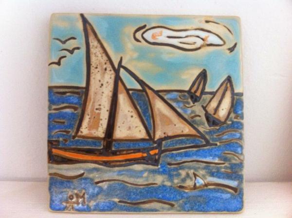 peinture-sur-ceramique-creative-amusante-idee-bateau