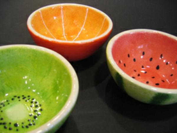 La peinture sur c ramique va personaliser votre vaisselle de mani re surprenante - Peinture pour vaisselle ...