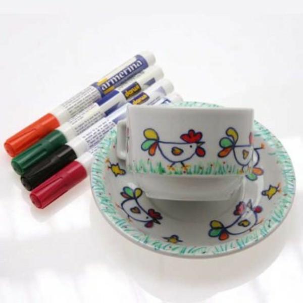 peinture-sur-ceramique-creative-amusante-tasse