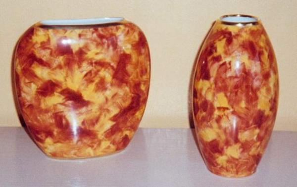peinture-sur-ceramique-creative-amusante-vase-originalle