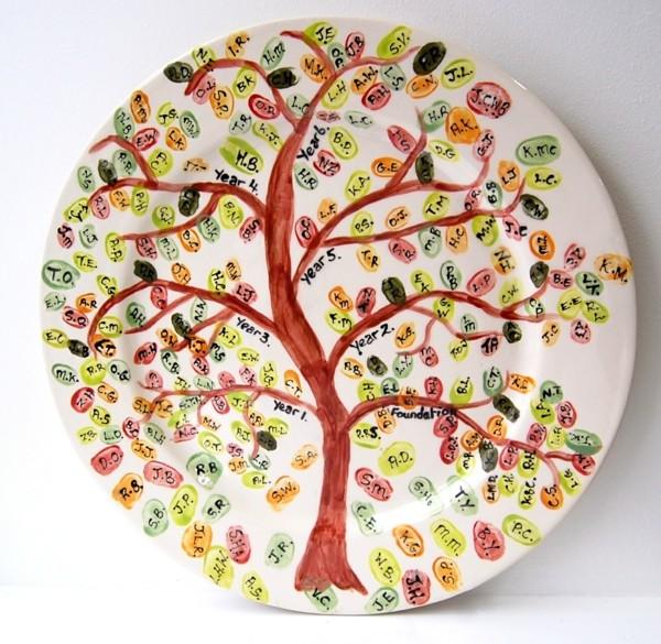 peinture-sur-ceramique-creative-arbre-famille
