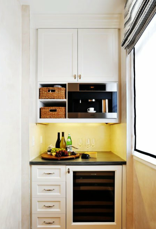 La petite cuisine design nous invite au confort et le style Idee petite cuisine equipee