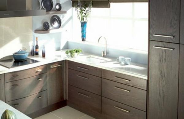 La petite cuisine design nous invite au confort et le for Petite cuisine retro