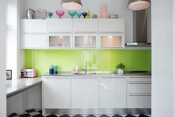 La petite cuisine design nous invite au confort et le for Idee petite cuisine design