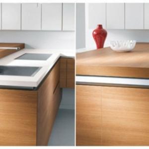 Un plan de travail coulissant donnera plus d'espace dans votre cuisine