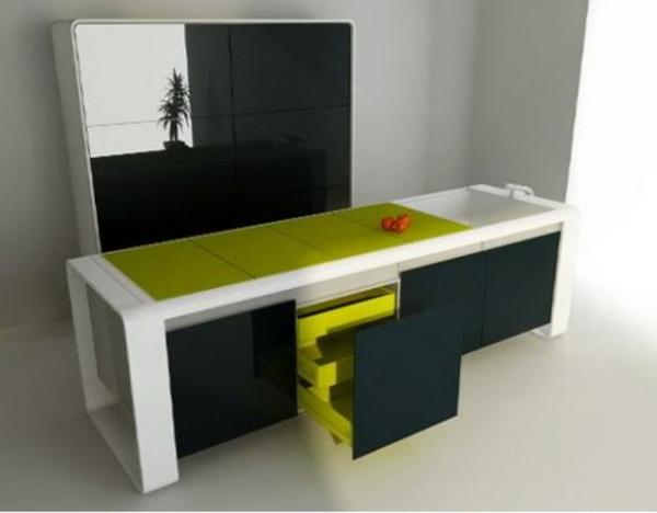 un plan de travail coulissant donnera plus d 39 espace dans votre cuisine. Black Bedroom Furniture Sets. Home Design Ideas