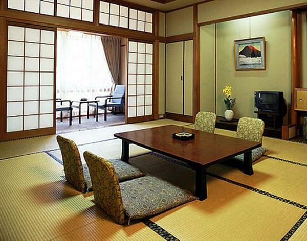 Les portes coulissantes japonaises pour votre int rieur for Salle a manger japonaise