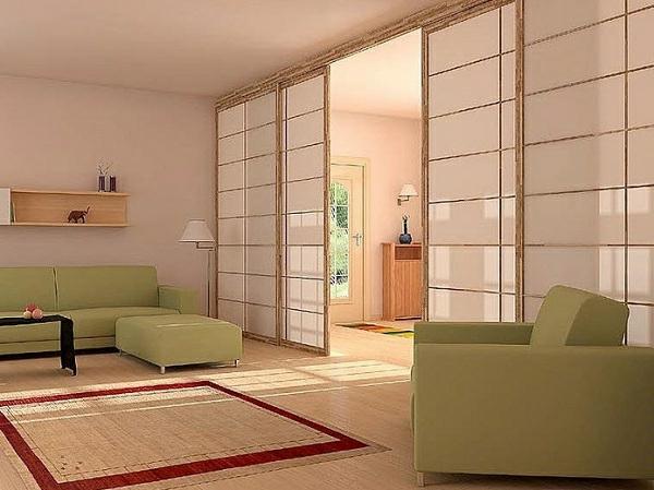 portes-coulissantes-japonaises-dans-un-hall-spacieux