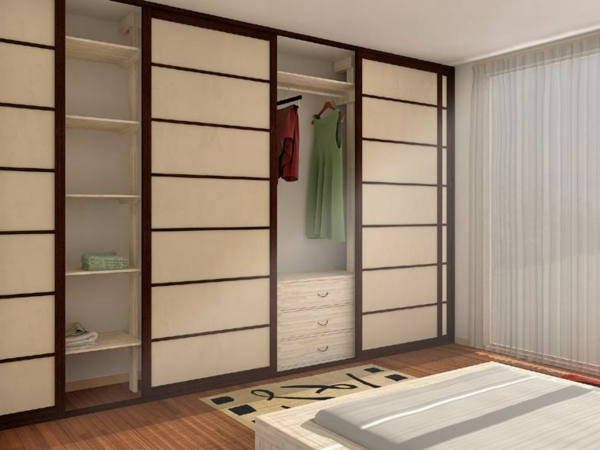 portes-coulissantes-japonaises-pour-un-armoire-blanc