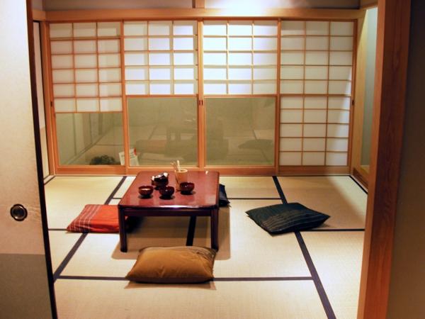 chambre japonaise traditionnelle solutions pour la. Black Bedroom Furniture Sets. Home Design Ideas