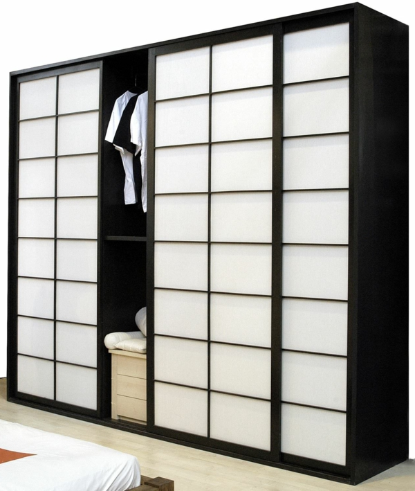 les portes coulissantes japonaises pour votre int rieur. Black Bedroom Furniture Sets. Home Design Ideas