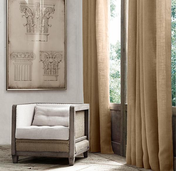 rideaux-contemporains-lin-naturel-beiges-idee-interieur