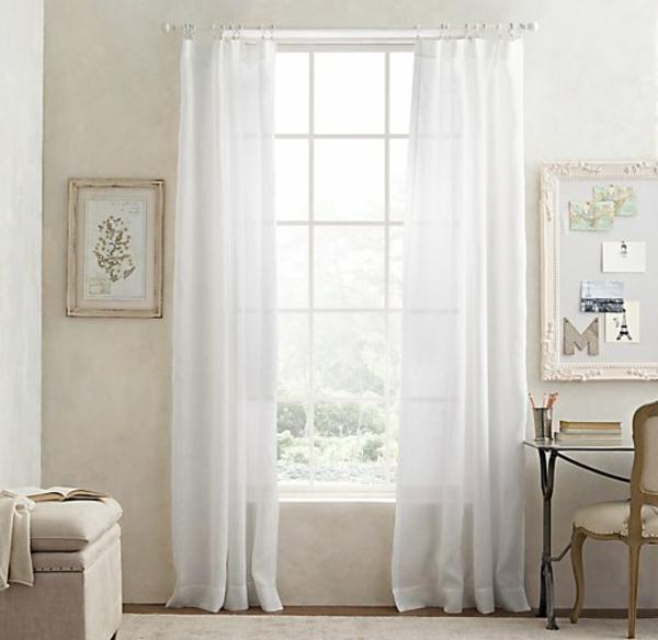 les rideaux en lin naturel simbolisent le confort et l. Black Bedroom Furniture Sets. Home Design Ideas