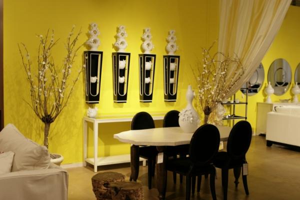 La salle manger moderne qui vous donne envie de r ver for Salle a manger jaune