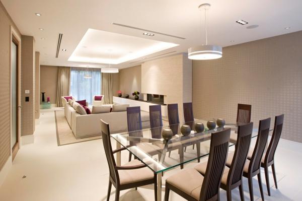 La salle manger moderne qui vous donne envie de r ver for Coin salon salle a manger