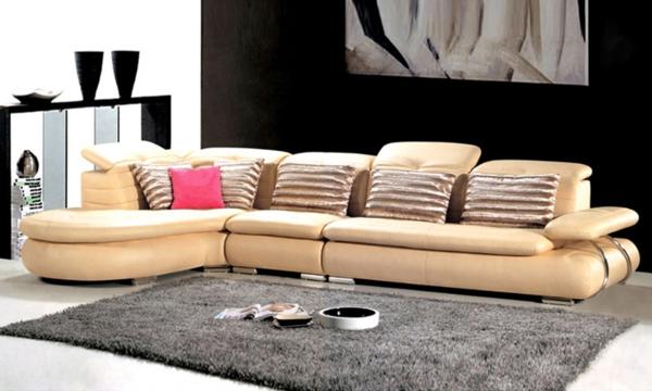 le salon d 39 angle cuir votre endroit chic pr f r e. Black Bedroom Furniture Sets. Home Design Ideas
