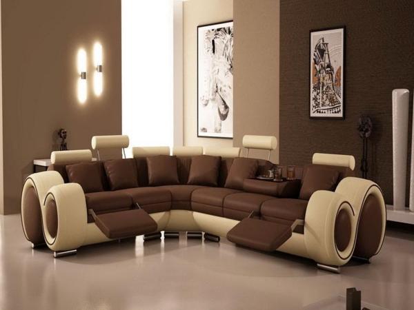 Le salon d 39 angle cuir votre endroit chic pr f r e for Salons cuir haut de gamme