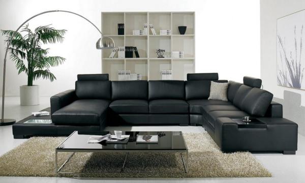 Beautiful Salon Cuir Noir Decoration Ideas Amazing House Design