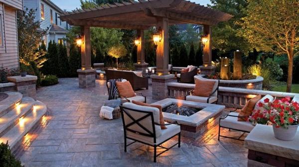 Un salon de jardin contemporain - 50 idées fascinantes pour son ...