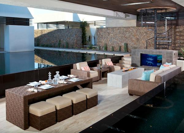 Un salon de jardin contemporain 50 id es fascinantes for Idee amenagement jardin contemporain