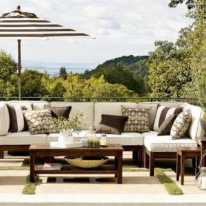 Un salon de jardin contemporain - 50 idées fascinantes pour son aménagement et décoration