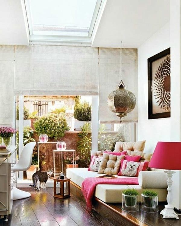 D co salon ambiance marocaine - Decoration orientale salon ...