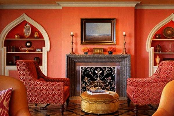 la d coration salon marocain la symbiose entre tradition et modernisme. Black Bedroom Furniture Sets. Home Design Ideas