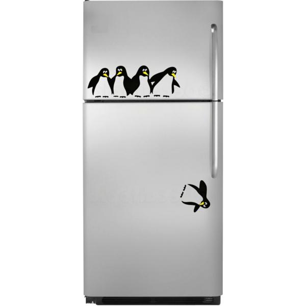 sticker-frigo-pingоuins