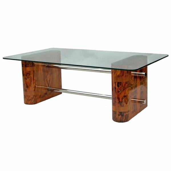 table-basse-art-deco-noyer-verre-chrome
