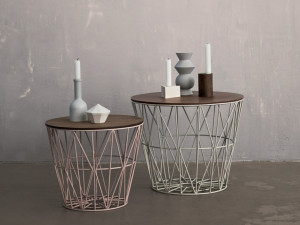 La table basse en fer pour votre int rieur et ext rieur - Table basse en bois et fer ...