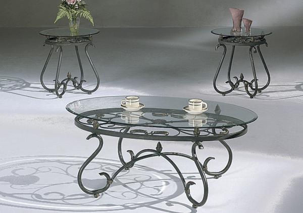 La table basse en fer pour votre int rieur et ext rieur for Table basse en verre et fer forge