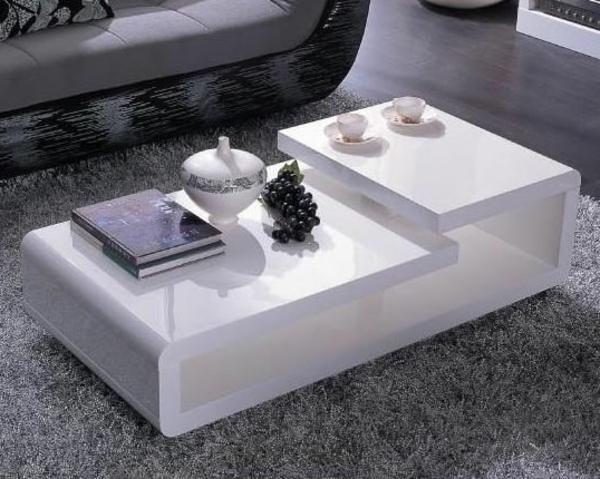 table-laquée-blanche-aux-formes-modernes