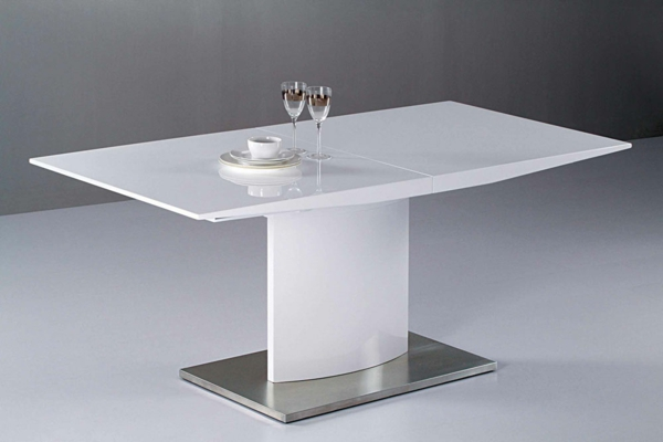 Table Extensible Blanche. Stunning Table De Salle Manger Design ...
