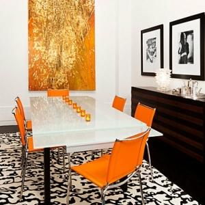 La table laquée blanche moderne - synonyme d'élégance pure